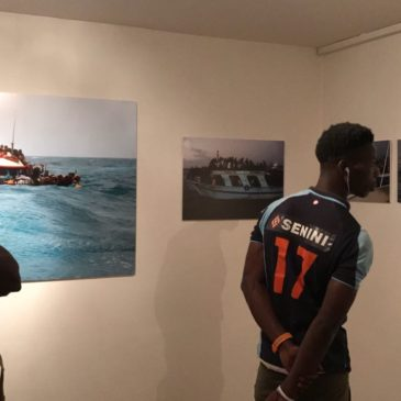 Lampedusa, la migrazione attraverso l'arte